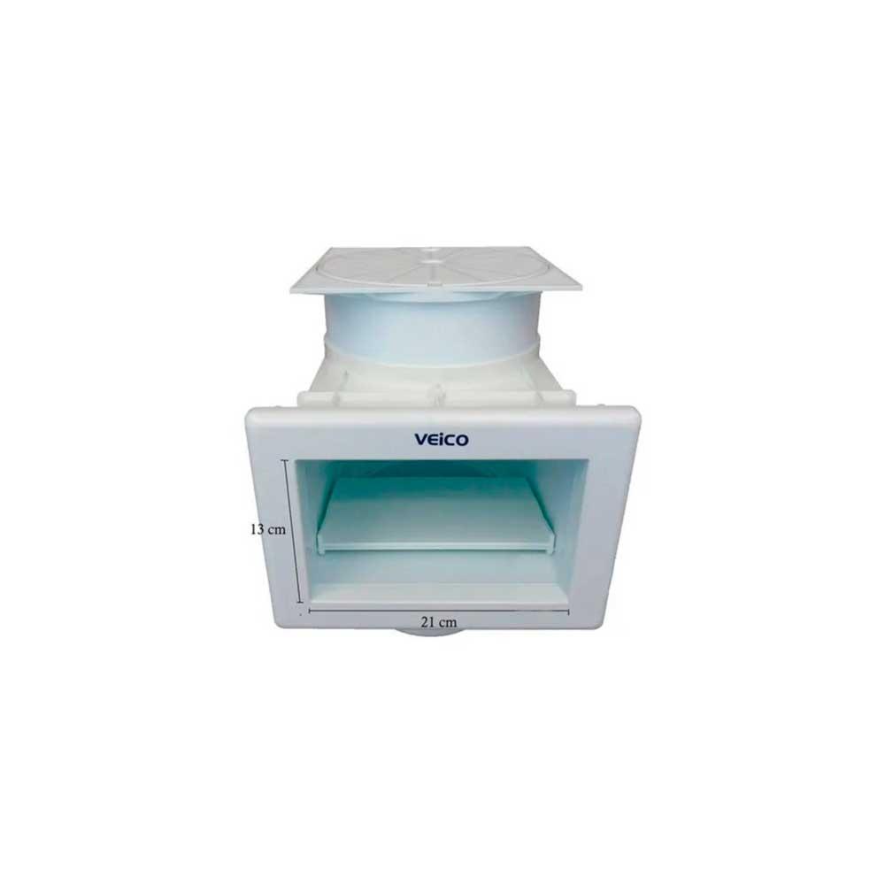 Skimmer P/ Vinil E Fibra B. Pequena Veico Fluidra