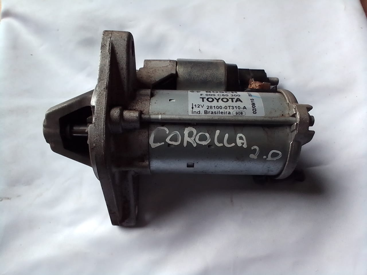 MOTOR DE ARRANQUE COROLLA 2.0