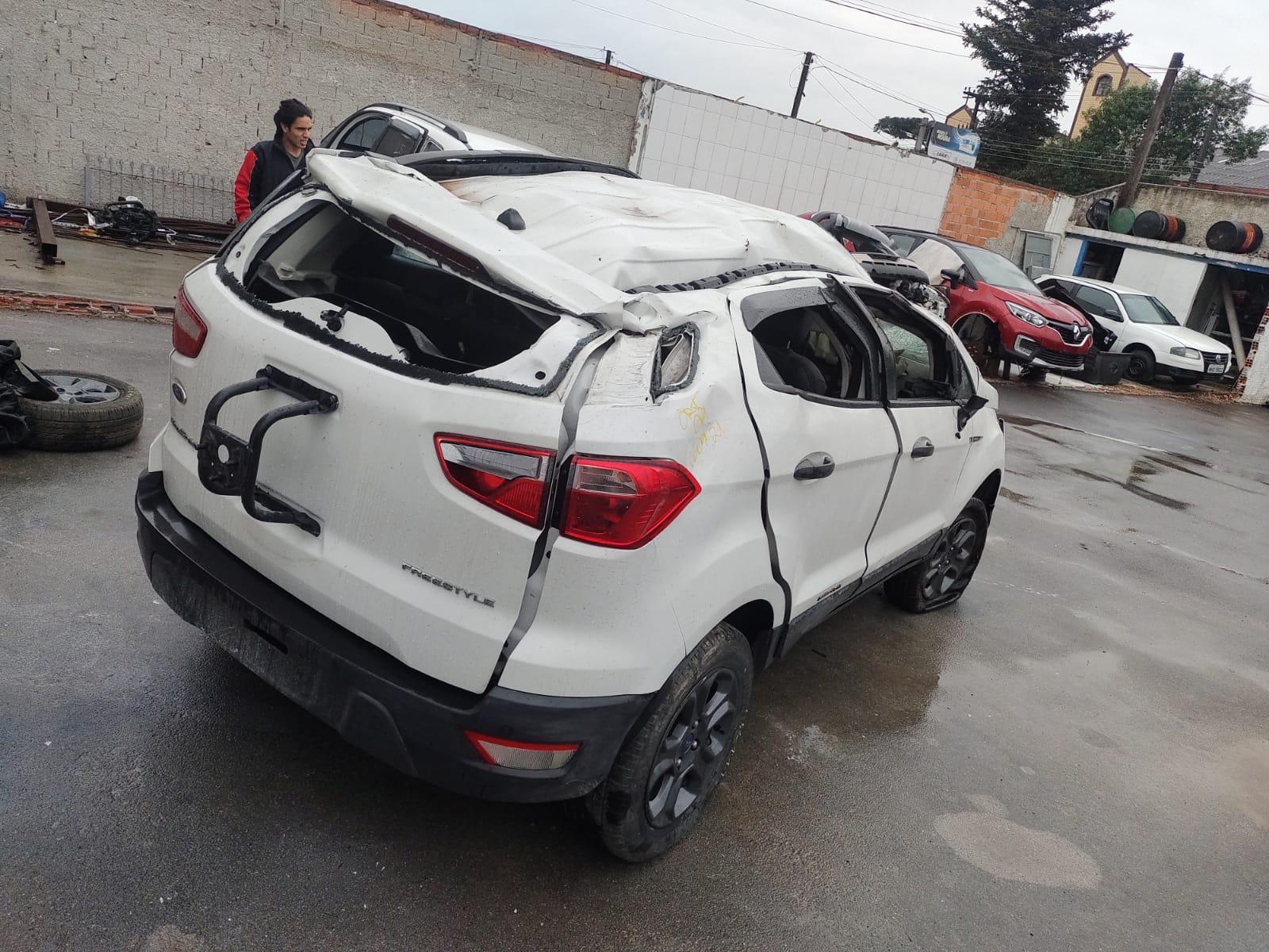 SUCATA FORD ECOSPORT FREESTYLE 1.5 2019 AUTOMÁTICO