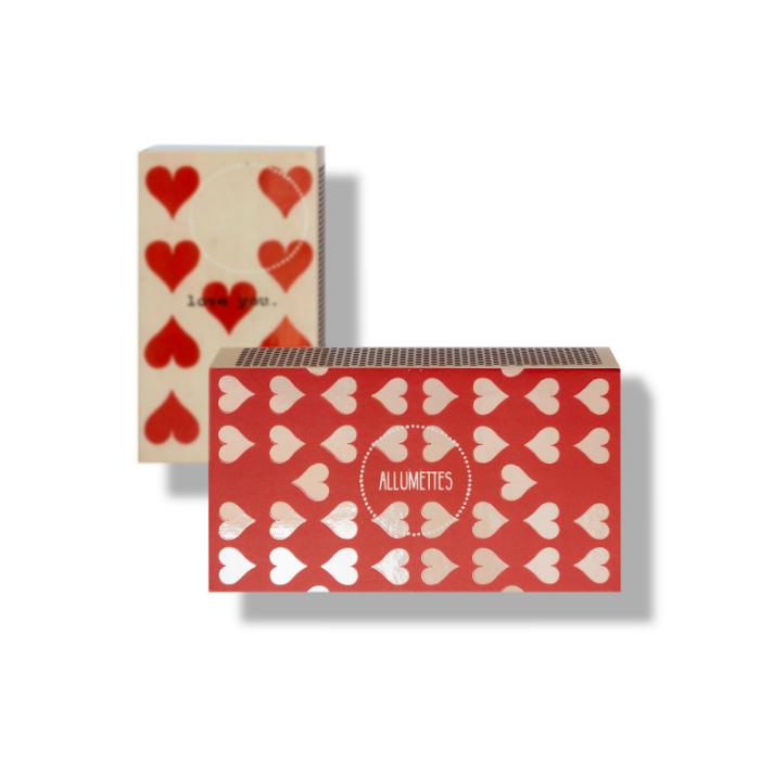 Caixa de Fósforos de Mesa Love  - Lumie Velas