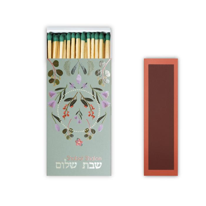 Caixa de Fósforos de Mesa Shalom  - Lumie Velas