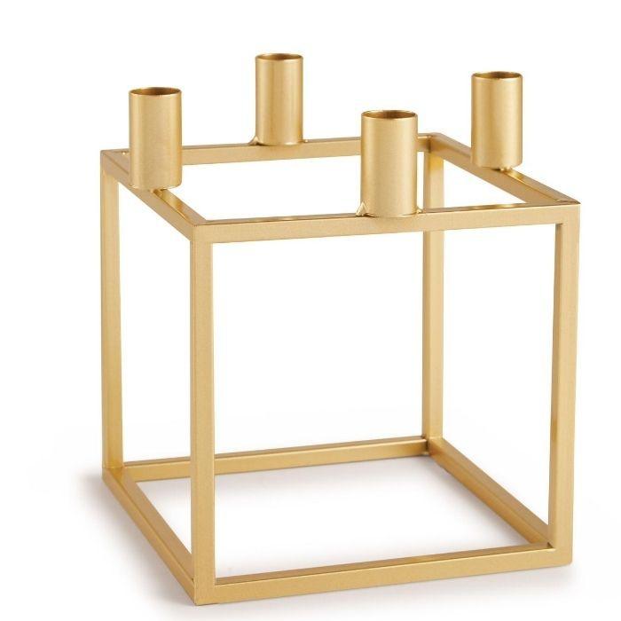 Castiçal Wire Dourado  - Lumie Velas