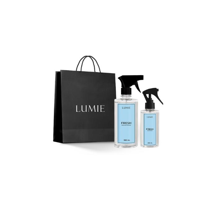 Kit Home Spray e Água de Passar FRESH  - Lumie Velas