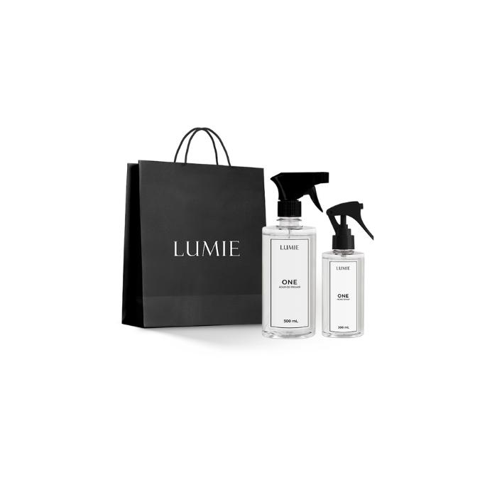 Kit Home Spray e Água de Passar ONE  - Lumie Velas