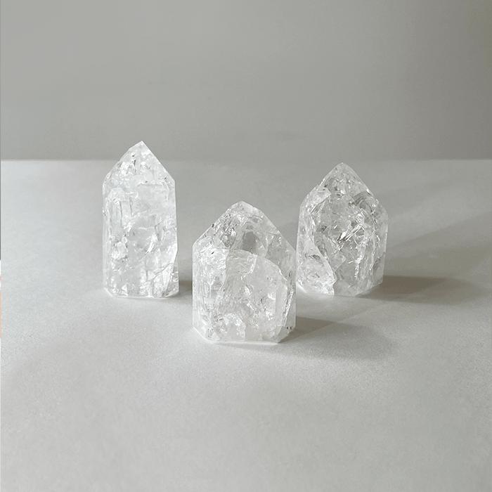 Ponta de Cristal Branco  - Lumie Velas