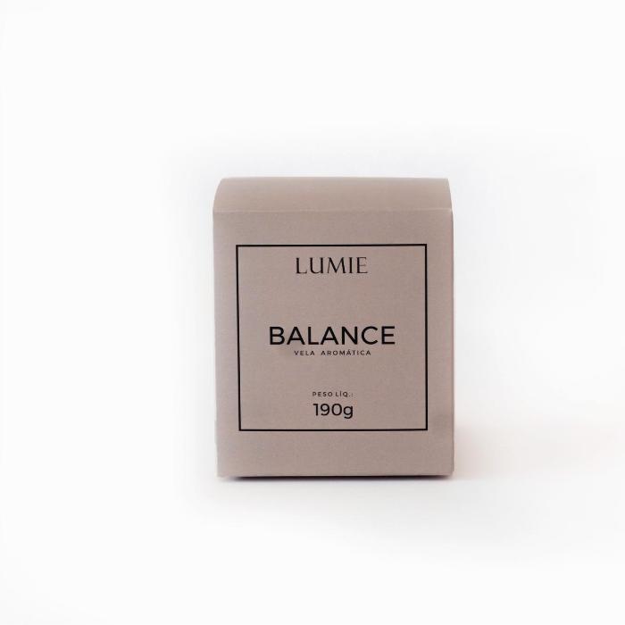 Vela Balance 190g  - Lumie Velas