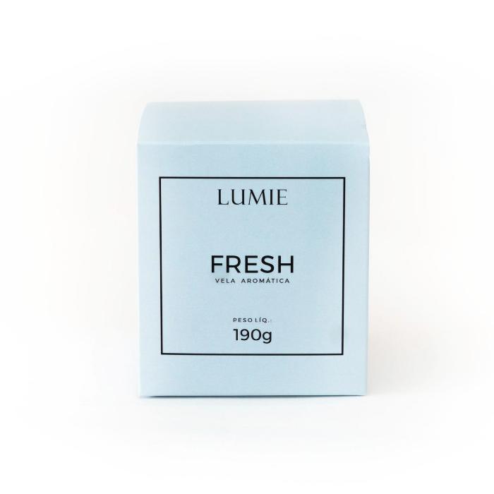 Vela Fresh 190g  - Lumie Velas