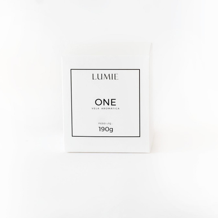 Vela One 190g  - Lumie Velas