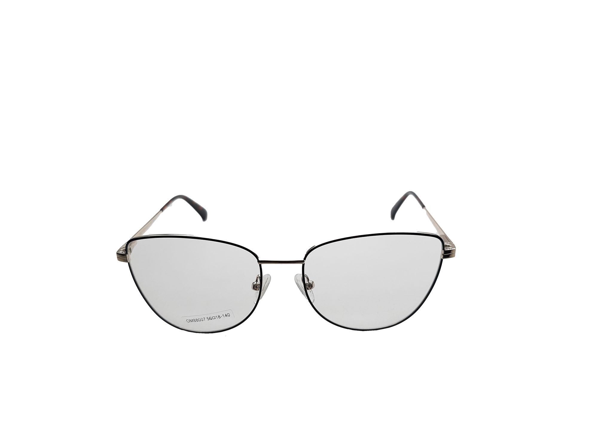 Armação para óculos de  grau clip on 2x1 Lucky88007