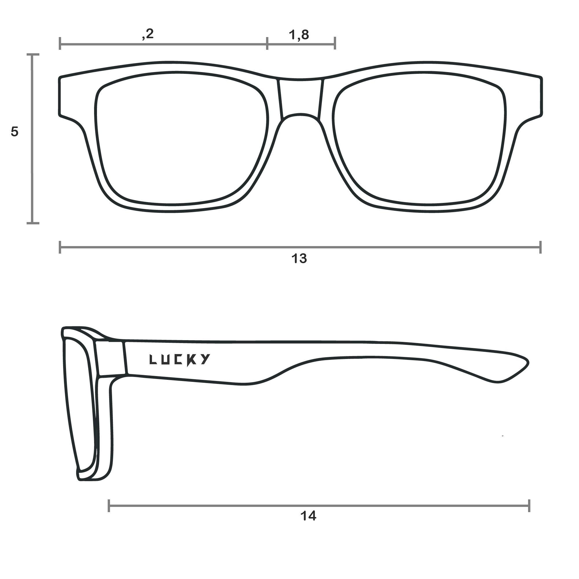 Óculos de Sol Lucky 1941