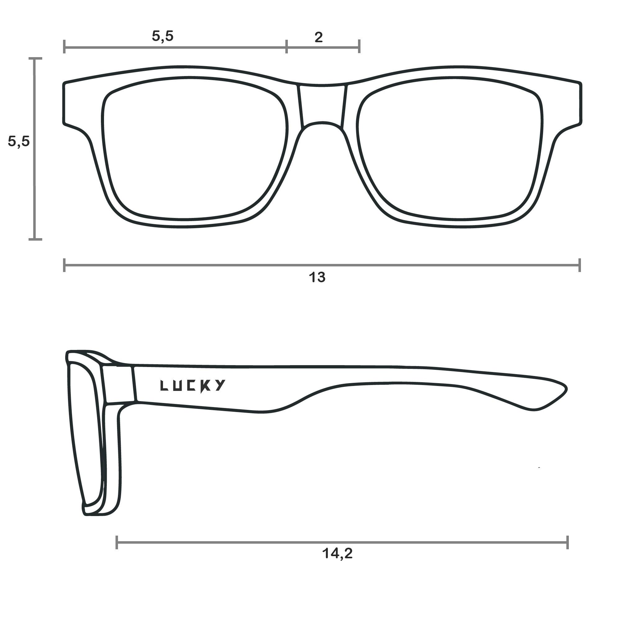 Óculos de Sol Polarizado Feminino Lucky 31034
