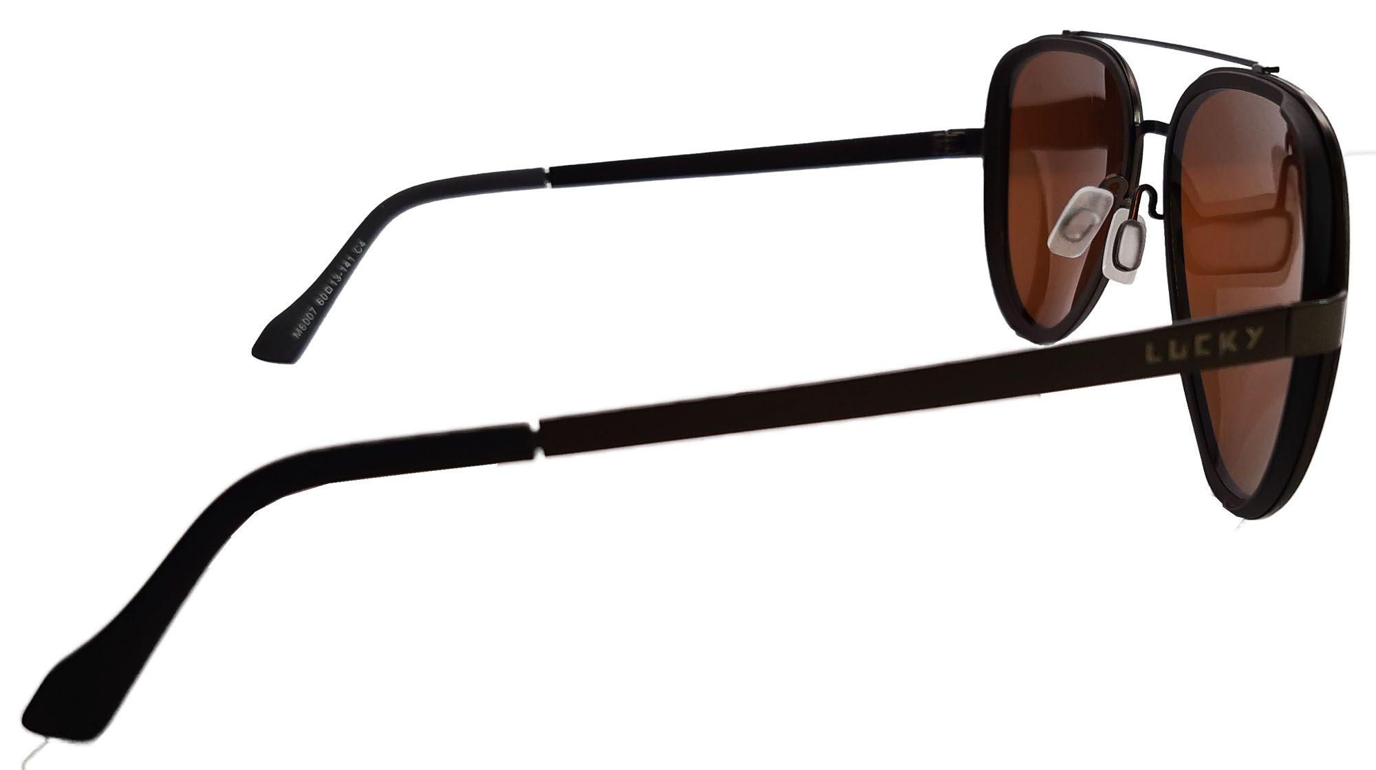 Óculos de sol polarizado Lucky6007