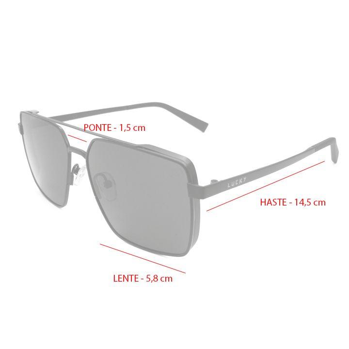 Óculos de sol polarizado Lucky9099