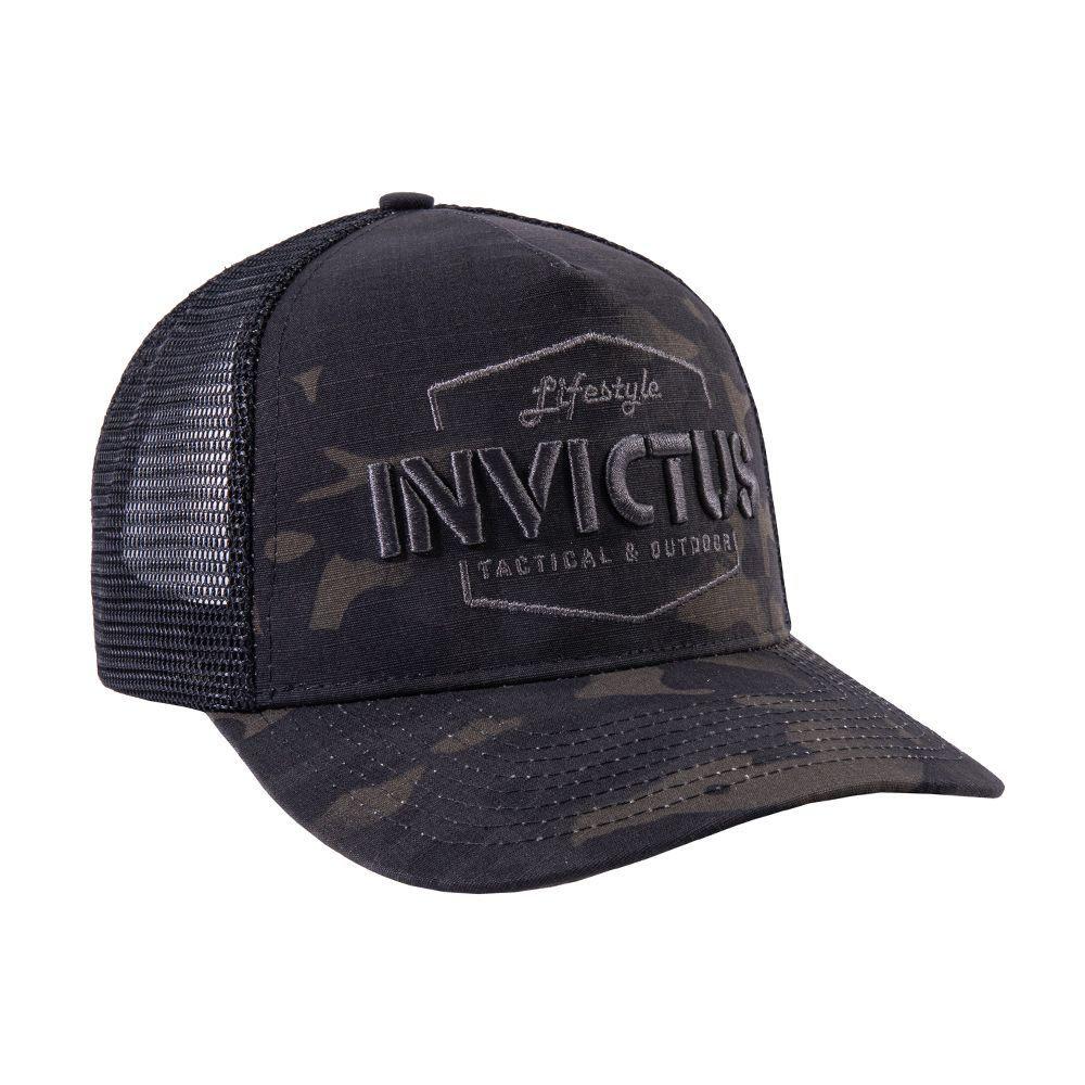 Boné Invictus Shadow Multicam Black