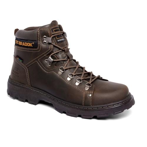 Bota Bradok Work Boot 2 Marrom