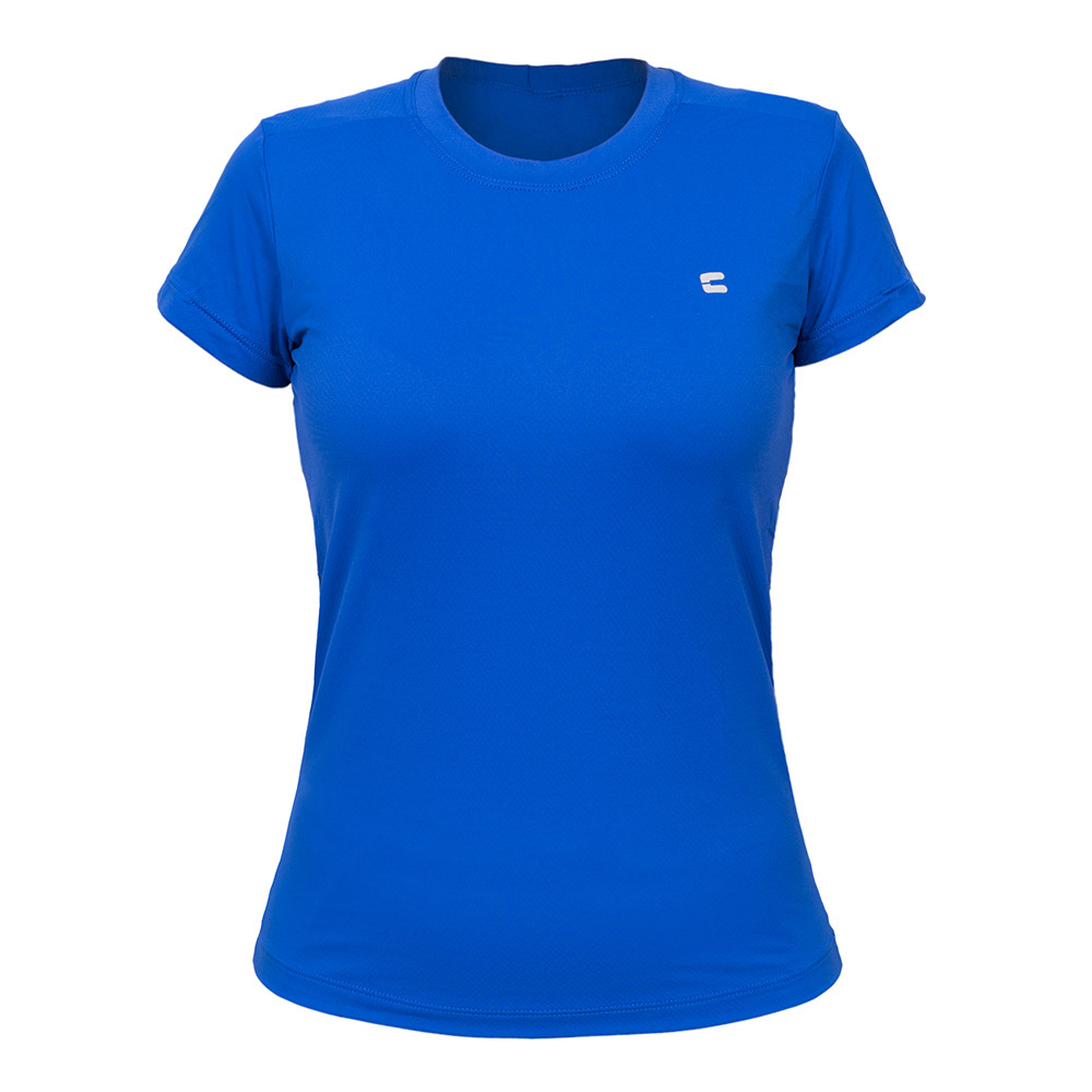 Camiseta Feminina Curtlo Active Fresh Azul Royal