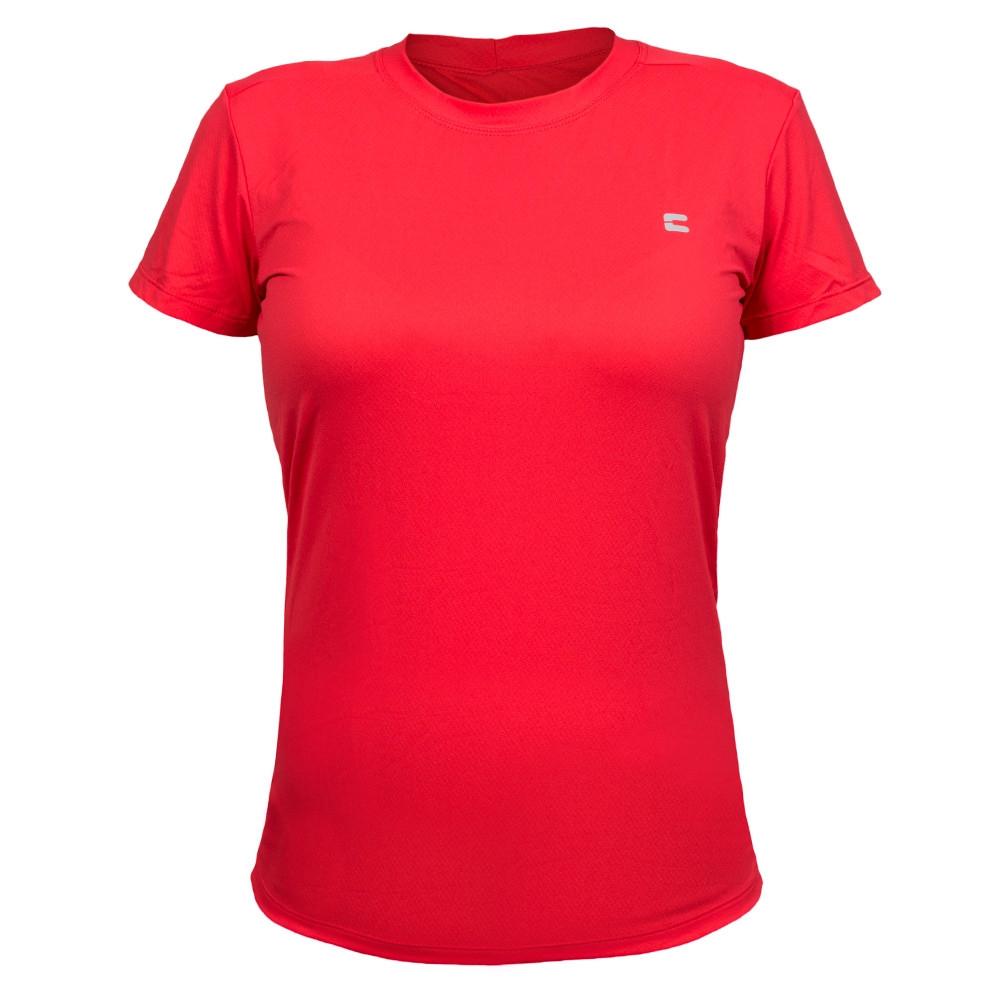 Camiseta Feminina Curtlo Active Fresh Vermelho