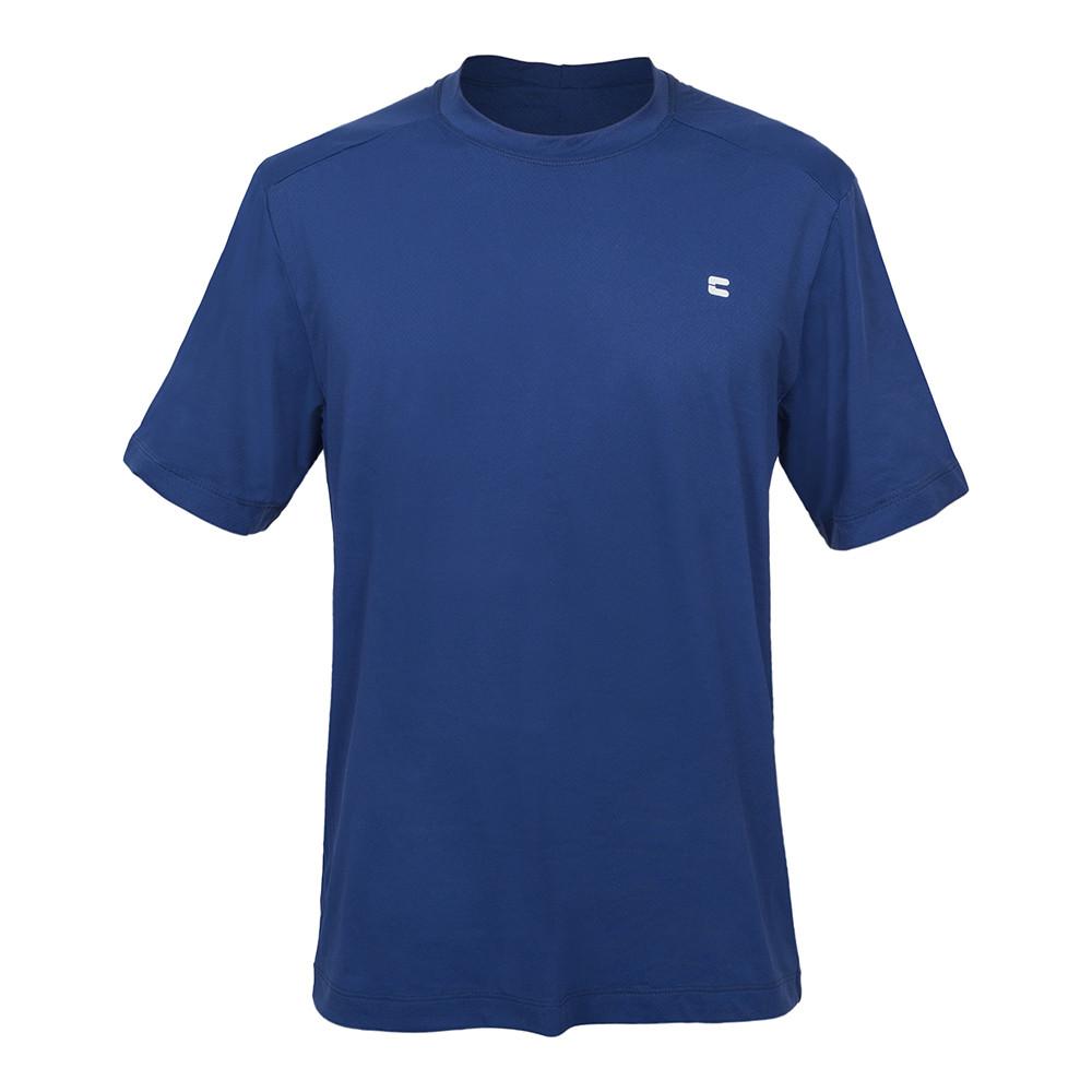 Camiseta Masculina Curtlo Active Fresh Azul Marinho