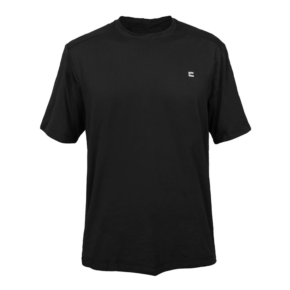 Camiseta Masculina Curtlo Active Fresh Preto