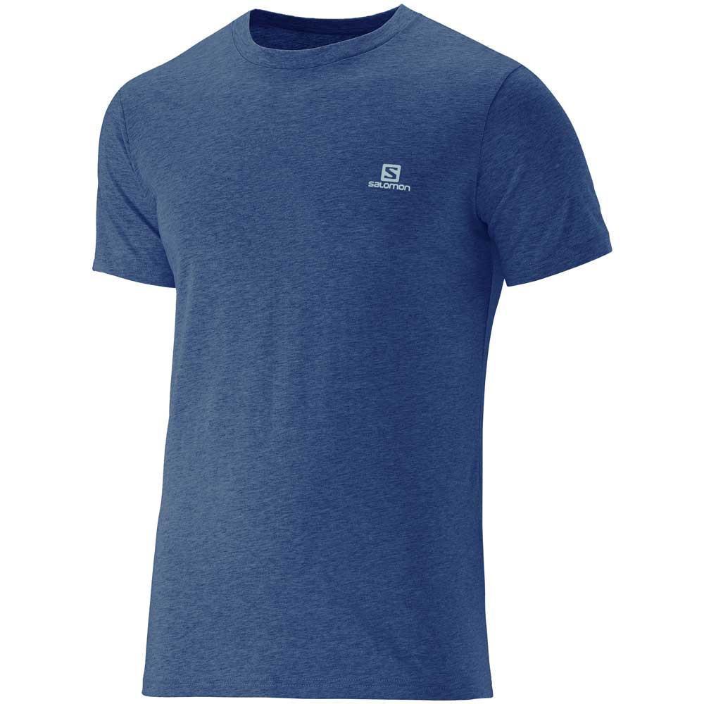 Camiseta Masculina Salomon Cotton SS II Marinho