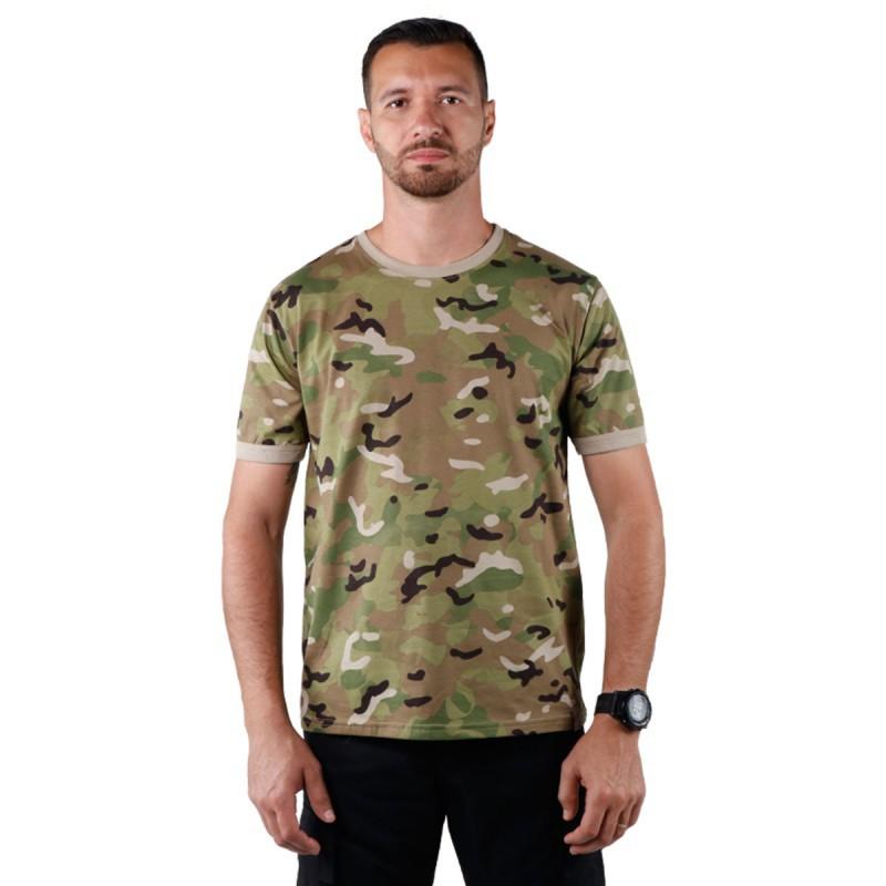 Camiseta Tática Bélica Soldier Multicam
