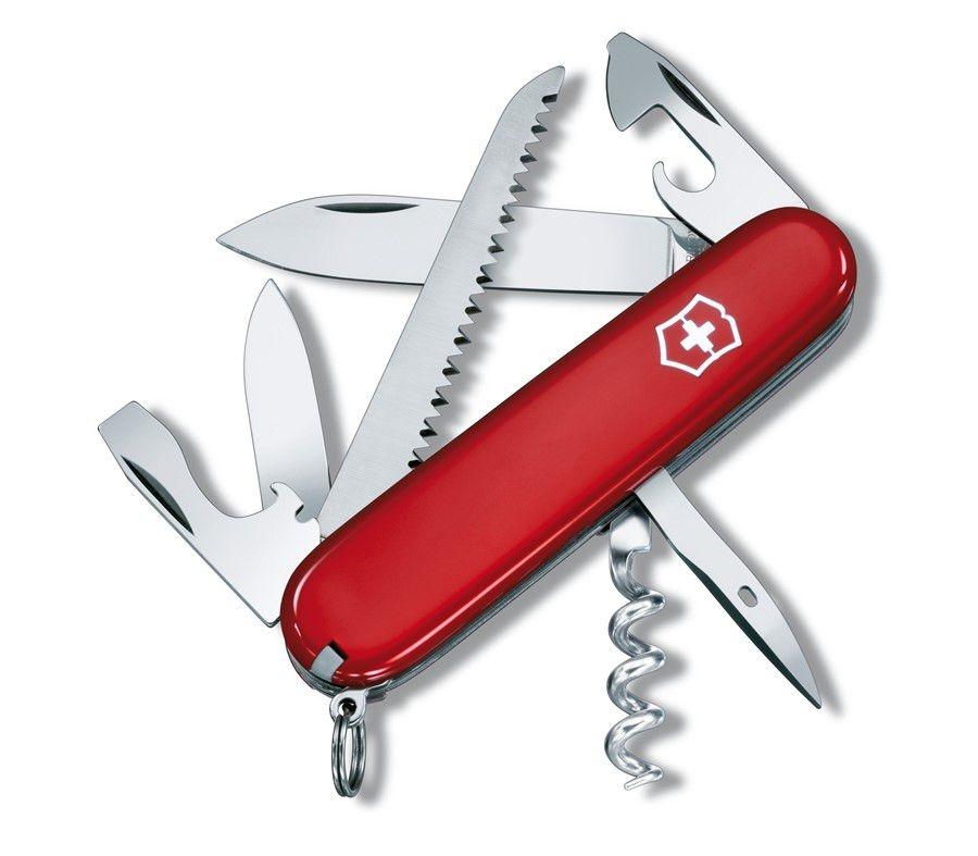 Canivete Victorinox Camper Vermelho em Blister 1.3613.B1