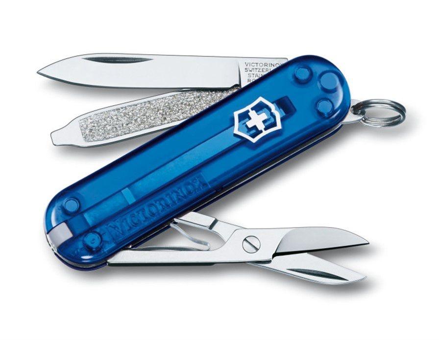 Canivete Victorinox Classic SD Azul Translúcido 0.6223.T2