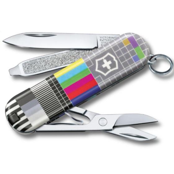Canivete Victorinox Classic SD Retro TV 0.6223.L2104