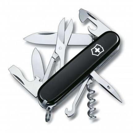 Canivete Victorinox Climber Preto 14 Funções 1.3703.3