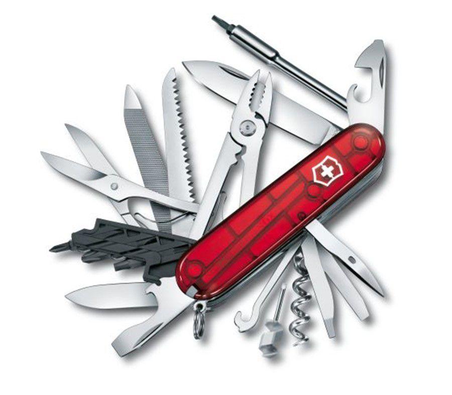 Canivete Victorinox CyberTool L Vermelho Translúcido 1.7775.T