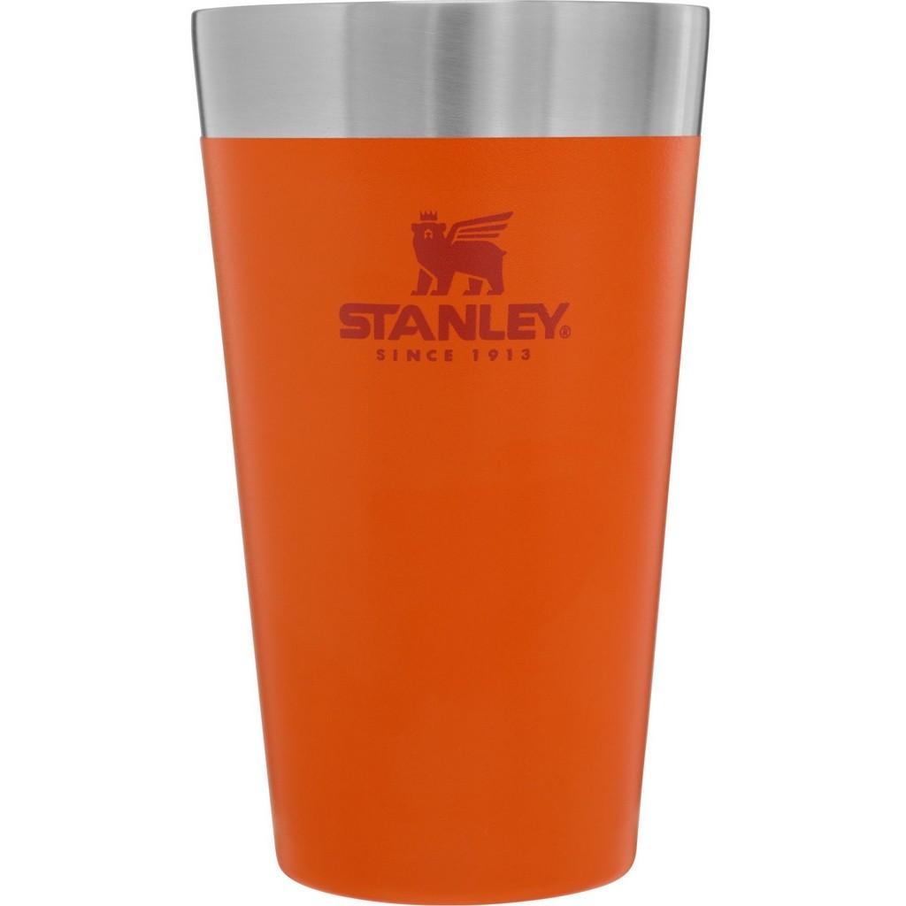 Copo Térmico Stanley sem Tampa 473ml Laranja