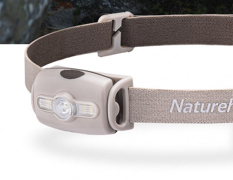 Lanterna de Cabeça Naturehike Outdoor Running IPX4 280 Lumens Khaki