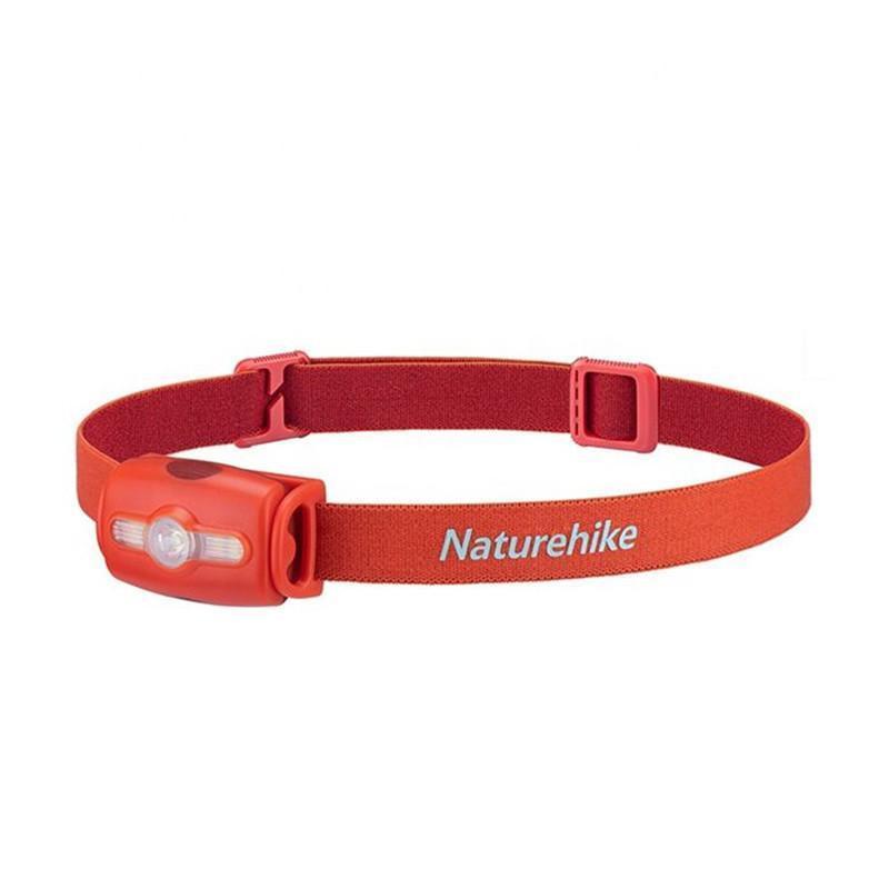 Lanterna de Cabeça Naturehike Outdoor Running IPX4 280 Lumens Vermelha