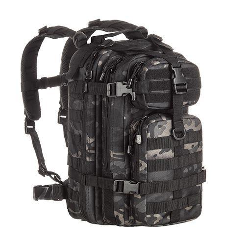 Mochila Invictus Assault Camuflado Multicam Black 30 Litros