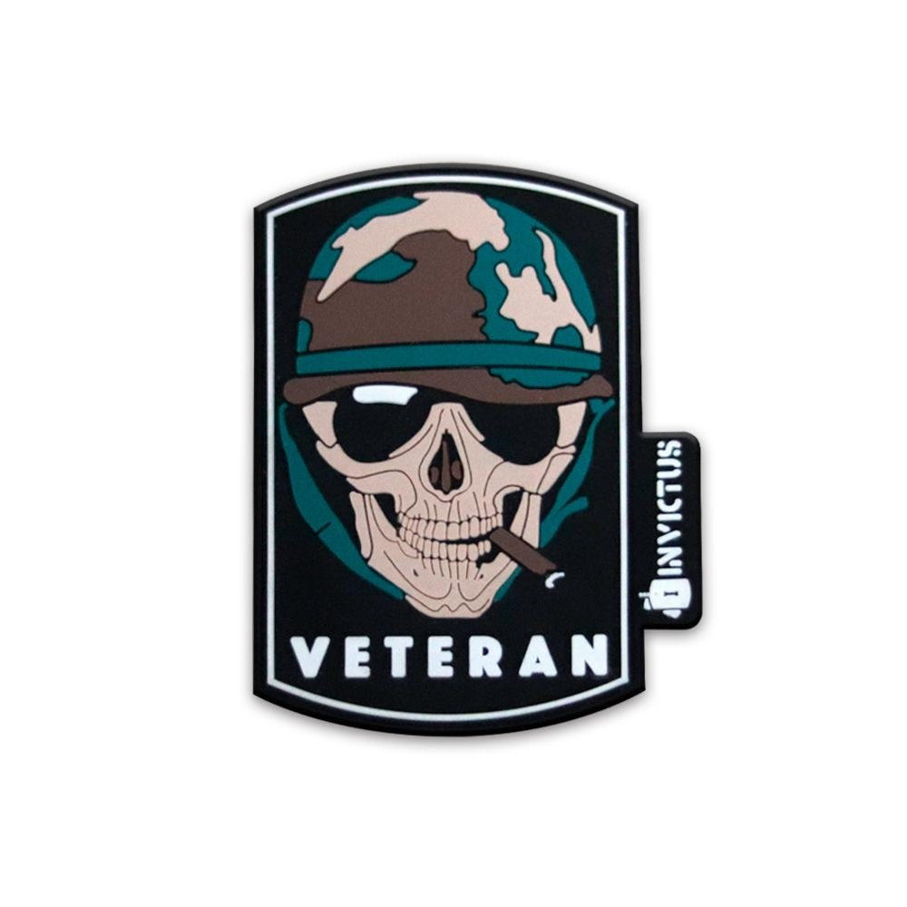 Patch Emborrachado Invictus Veteran