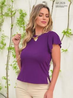 Blusa feminina de malha ref. 2626