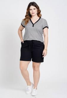 Conjunto plus size shorts e blusa  Ref. U75121