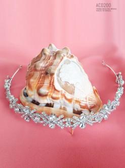 Tiara de noiva e coroa de princesa  AC0200