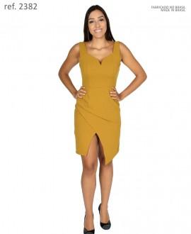 Vestido tubinho  de malha crepe premium - Ref. 2382