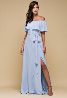 Vestido de festa azul Serenity  - Ref. 2464