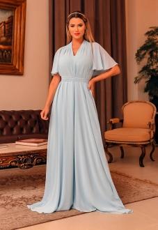 Vestido longo para madrinha Serenity ref.2593 tamanho único