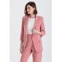 Blazer feminino rosê manga 3/4 ref. 2661