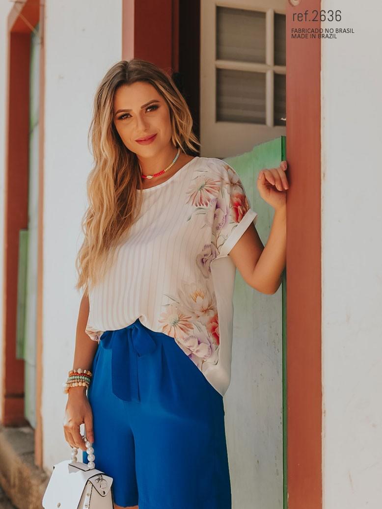 blusa estilosa