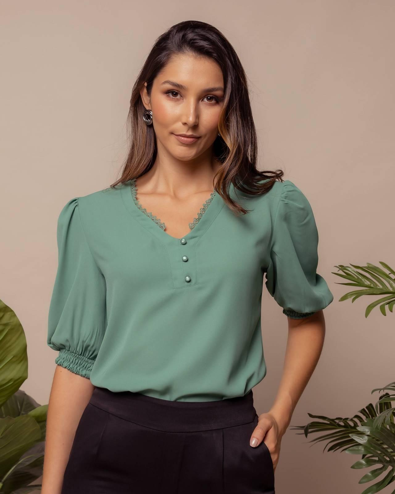 blusa pode ser usada em qualquer estação do ano