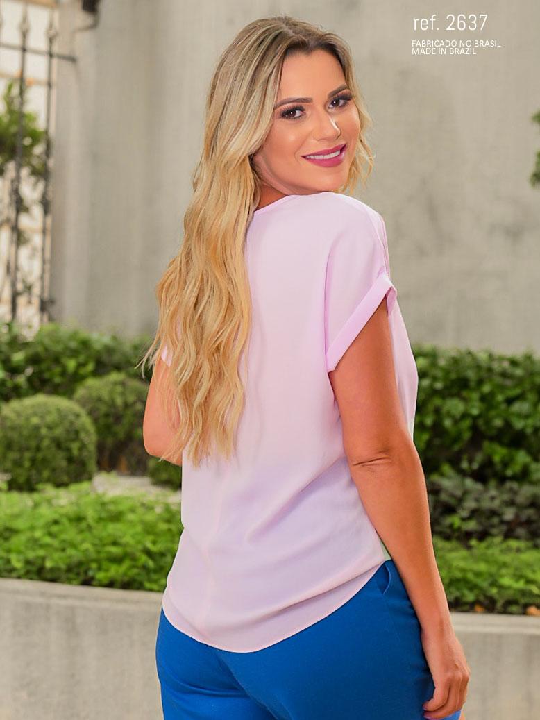 parte das costas da blusa