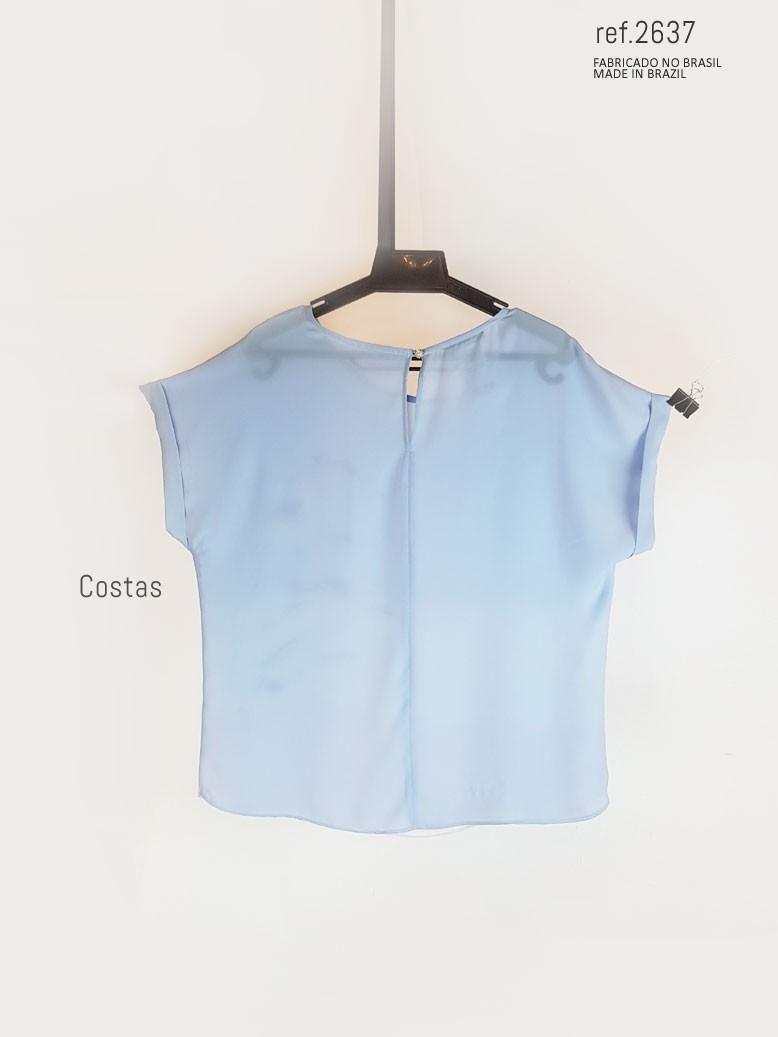 detalhe da blusa