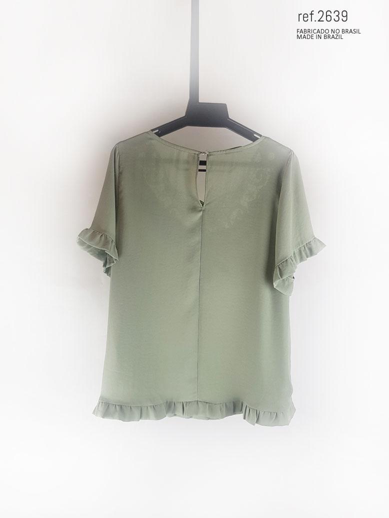 parte  de tras da blusa