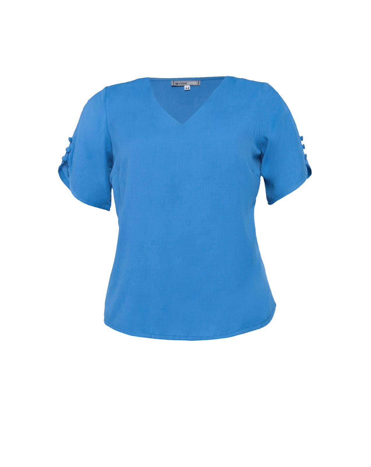 blusa cor azul