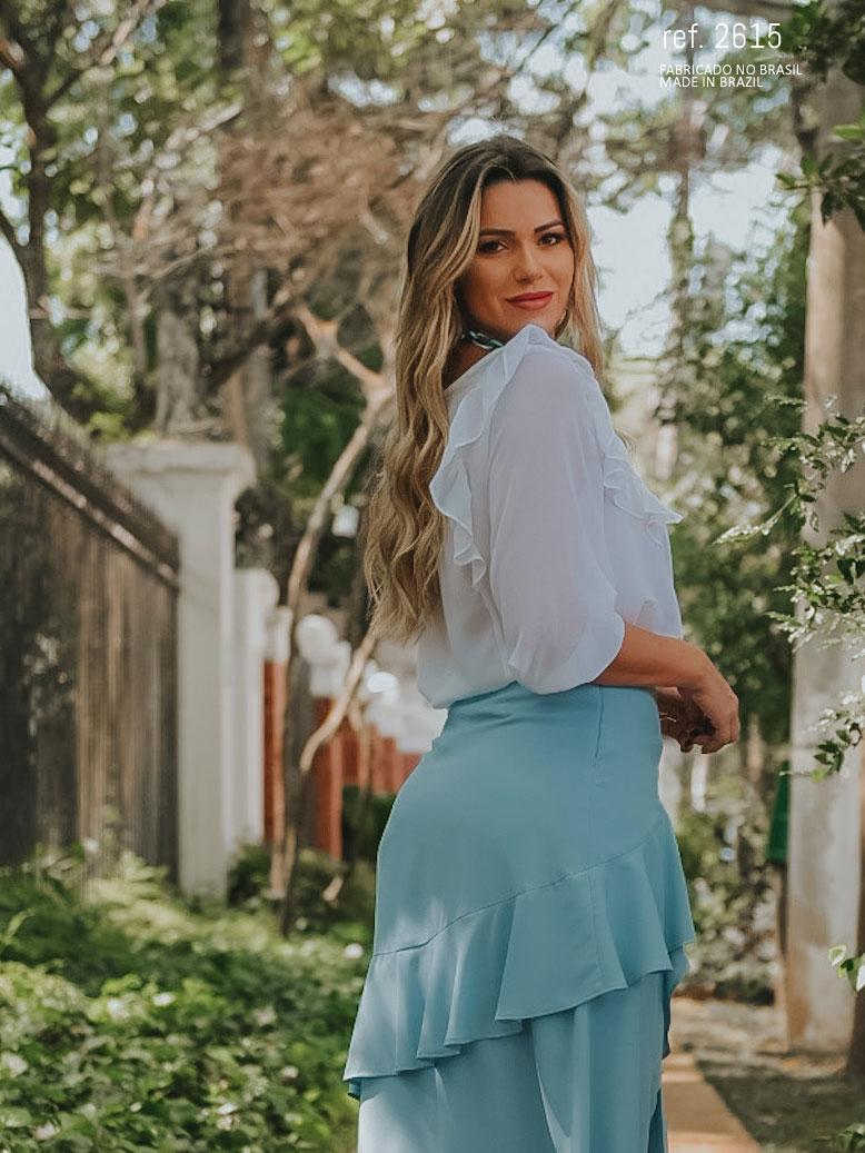 blusa formal ababdo parte das costas