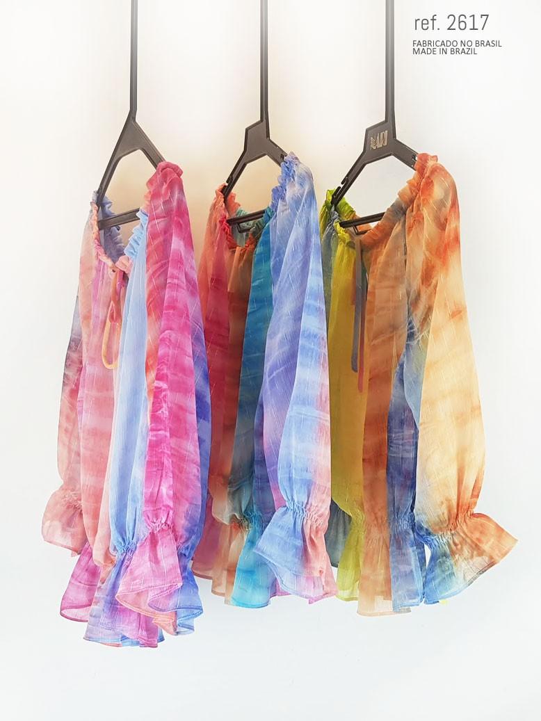 veja blusa em diversas cores